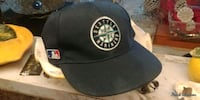 black and gray fitted cap 3725 km