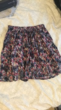 Women's black and pink midi skirt Kenmore
