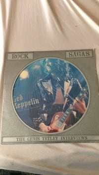 Led Zeppelin   picture disk Woodbourne, 12788