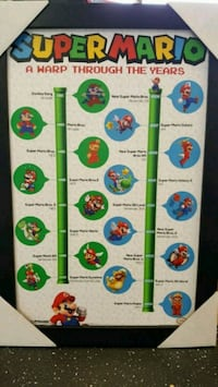 Super Mario Art Poster Mayfield Heights, 44124