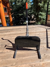 2 Snowmobile Stands