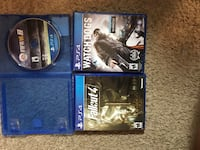 3 PS4 games  Woodbridge, 22193