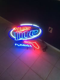 miller lite florida led light signage Palm Harbor, 34684