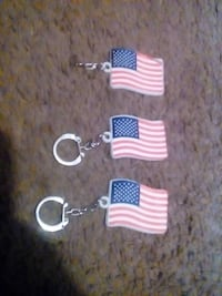 Usa flag key chains Hot Springs