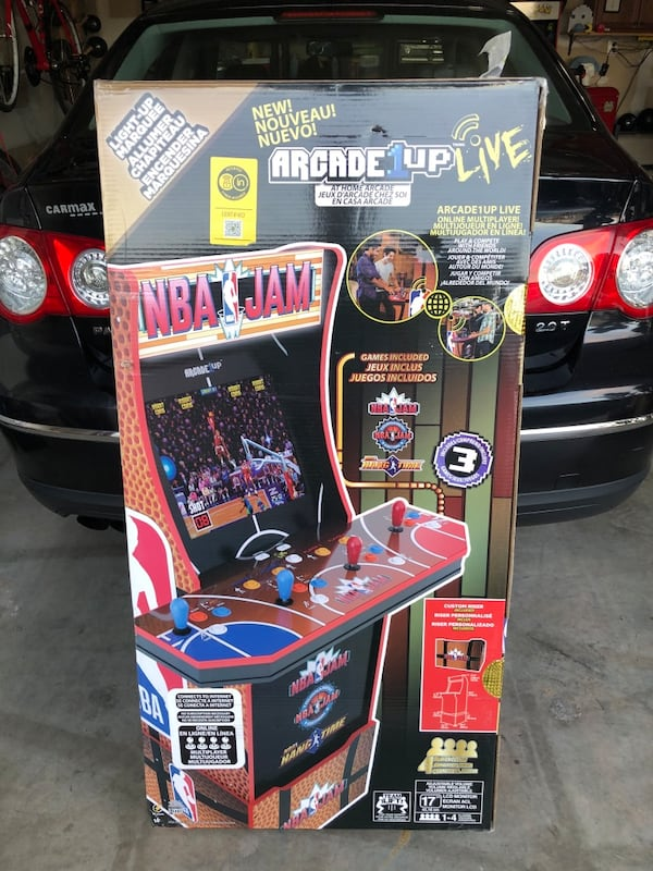 Arcade1Up (NBA JAM) 25e84e27-3c24-4863-a457-153b9cfe3ec8