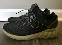 Adidas Tennis Shoes- Boy's Black and Olive Green Sneakers Size 5.5 Gaithersburg, 20879