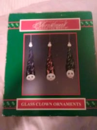 Beautiful glass clown ornaments Exeter, 03833
