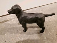 Retro Black Labrador Cast-Iron Bank Washington