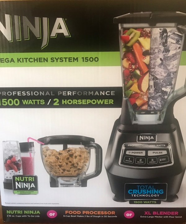 BRAND NEW IN BOX NINJA MEGA KITCHEN SYSTEM