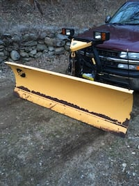 Fisher minute mount 2 plow with hand held controller plow side only  Chaplin, 06235