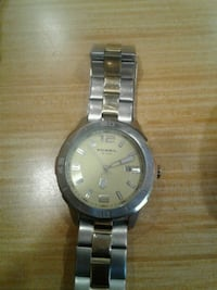 round silver-colored analog watch with link bracelet San Antonio, 78207