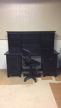 IKEA desk in black-brown finish Johns Creek, 30097