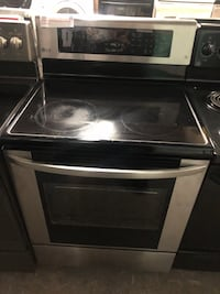 LG stainless steel convection oven electric stove