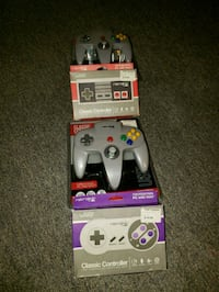 Playstation 2 controllers as well as2 notendo cont Winnipeg, R2L 0L5