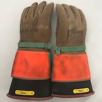 Kunz Lineman Rubber Insulated Protective Gloves Size 9 Norfolk, 23518