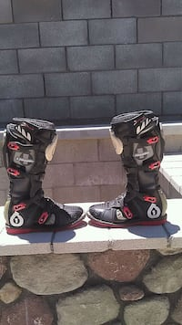 Dirt bike motorcycle enduro boots Victorville