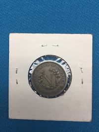 1883 V Nickel (Without Cents) Leesburg, 20176