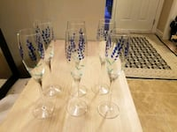 6 Art Deco glasses/Champaign/ or wine  Edmonton, T6W 0L3