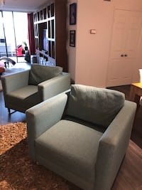 Almost new pair of  Armchairs Toronto, M4W 3M6