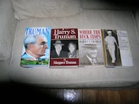 Four (4) Books on or about President Harry S. Truman Springfield
