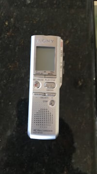 gray Sony audio recorder 14 km
