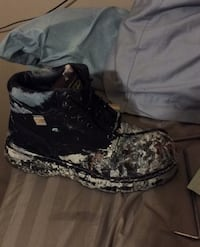 Used a few times steel toed boots. Size 10 New Westminster, V3L 1J7