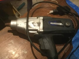 "Mastercraft Impact Wrench 7.5A 1/2"" 120V Model 1323"