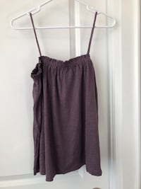Wilfred by Aritzia Purple Tank Top Size Small 536 km