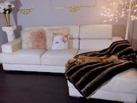 White leather-couch // sofa Los Angeles, 91403