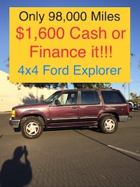 Ford Explorer 1994 * 1 Owner * BHPH Financing w/$1000 Down or $1600 Cash Pinole, 94564