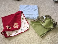 Baby blankets $8 each or all for $20 Calgary, T3H 0R9