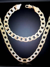 18k,18inch Chain and matching Bracelet Reno, 89521