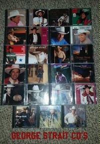 I have George Strait cd's all for $45.00. Mesa, 85204