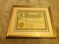 Stock certificate. The Grand Forks Gold Mining Co. Calgary, T2C