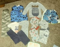 toddler's assorted clothes York