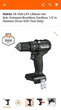 black and gray Makita cordless impact wrench Milford Mill, 21244
