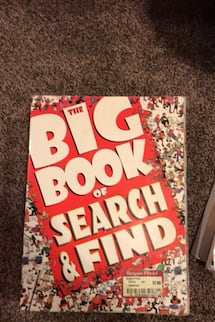 Search and find book, only used a few pages