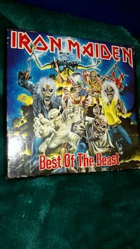 Iron maiden best of the beast cd