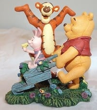 "Simply Pooh ""Spring is what Tiggers do best"" collectible figurine  Manassas, 20112"