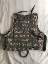 Military airsoft or costume tactical vest.  Milton, L9T