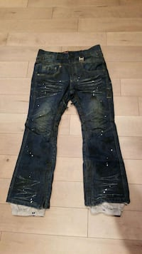 Mens Denim fitted Snowboard Jean