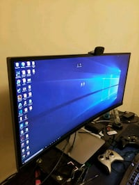 Dell 32 inch curved WQHD widescreen monitor  Burnaby, V5G 1T8