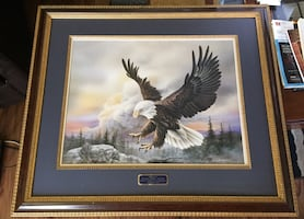 """Larry K Martin """"Spacious Skies"""" Painting.Currently worth $575"""