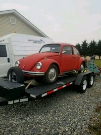 red Volkswagen Beetle 54 km