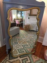 French Provincial gold Mirror