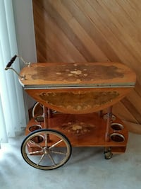 WINE & TEA CART