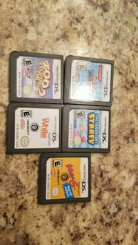 four Nintendo DS game cartridges Edmonton, T6X 1K9