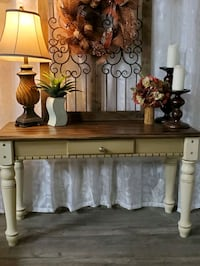 Sofa Table or entrance table solid wood