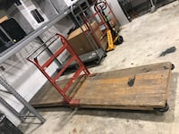 Used wooden flat bed Alexandria, 22305