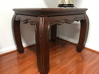 Pair of Rectangular brown wooden side table Germantown, 20874
